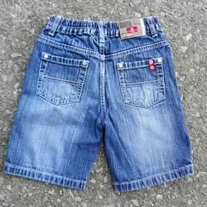 Boys South Pole blue jean shorts